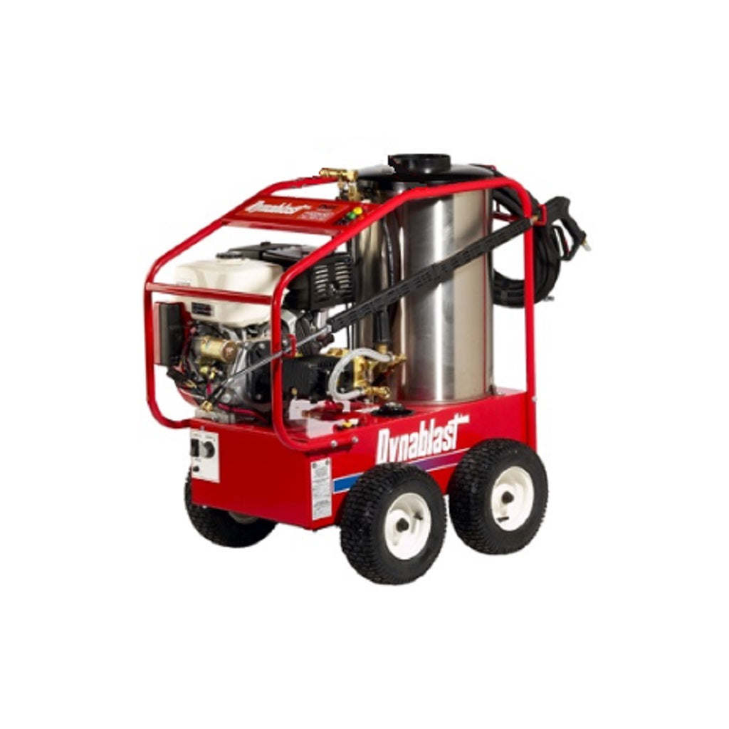 Dynablast H4035GRGF 3500psi 3.8gpm Honda with Interpump Gear Reduction Pump and Diesel Hot Water