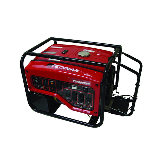 Kodiak KD7000VRS 7000 Watt Honda Generator 7.6 Hour Runtime at 1/2 Load Electric Start