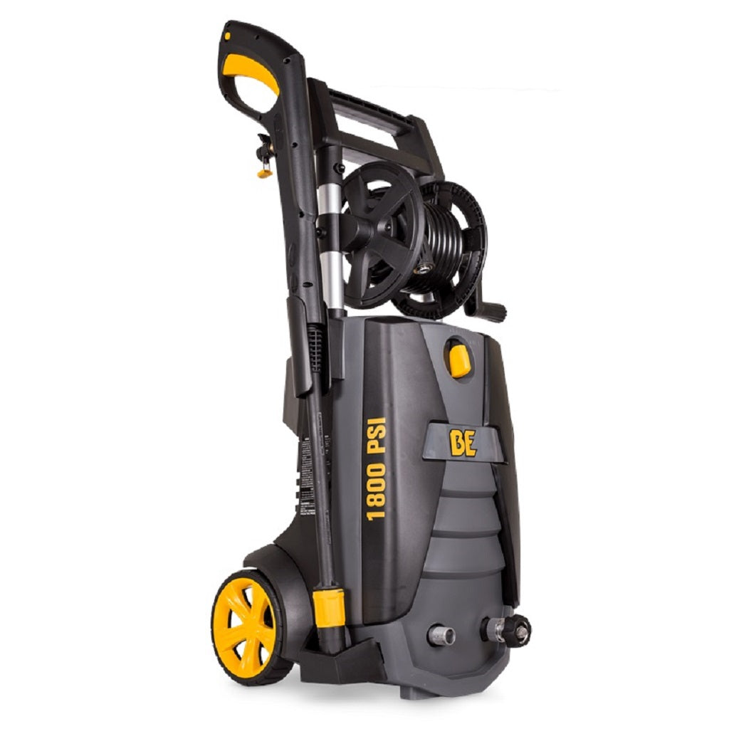 BE P1815EN 1800psi 1.3gpm Electric Pressure Washer with Hose Reel