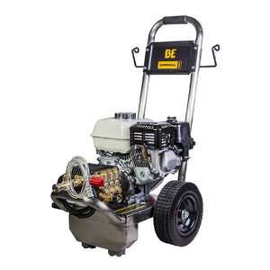 BE PE-2565HWSGENSP 2500psi 3.0gpm Honda with General Pump and Stainless Steel Frame