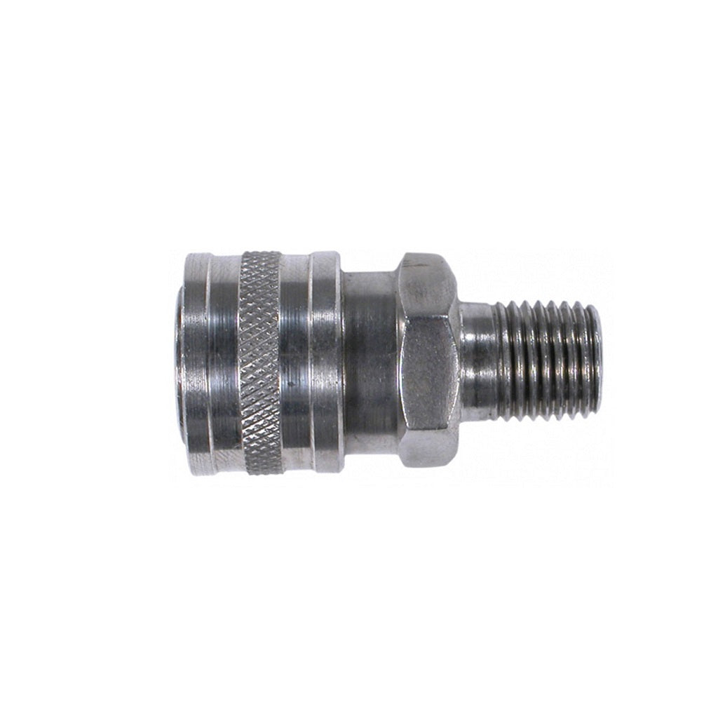 Stainless Steel 6000psi 1/4 Inch Male Thread Pressure Washer Quick Connect Coupler