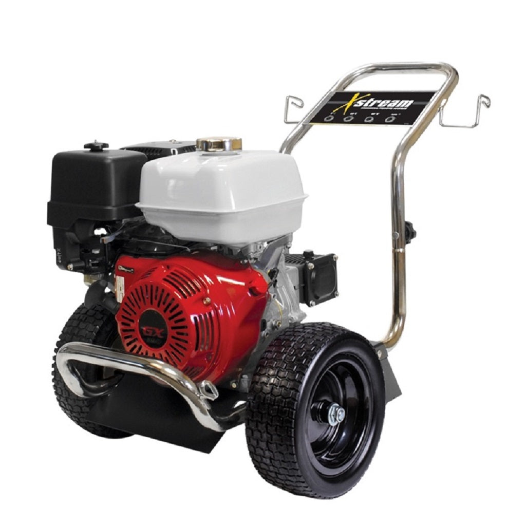 BE X-4013HWPGENR 4000psi 4.0gpm Honda with General Pump and Low Profile Steel Frame