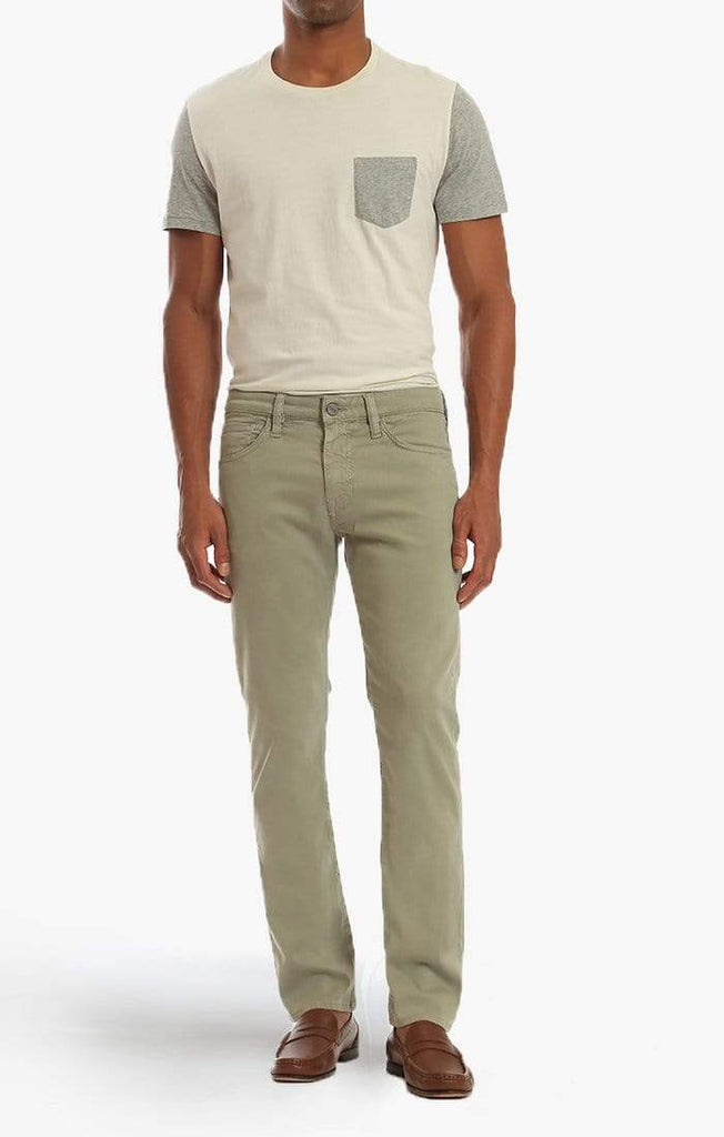 34 Heritage 5-Pockets Courage Straight Leg in Sage