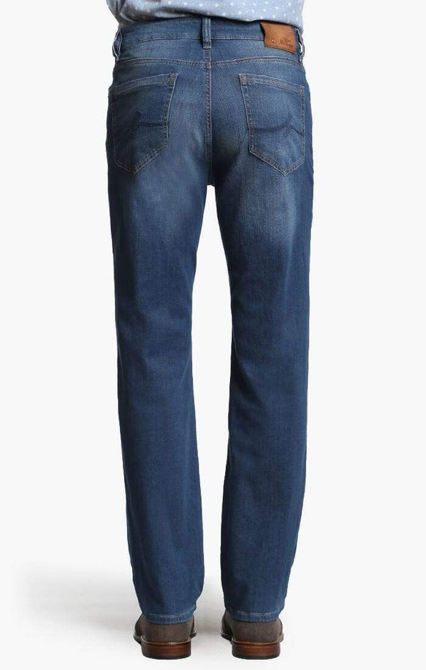34 Heritage Denim Charisma Classic Straight in Mid Cashmere