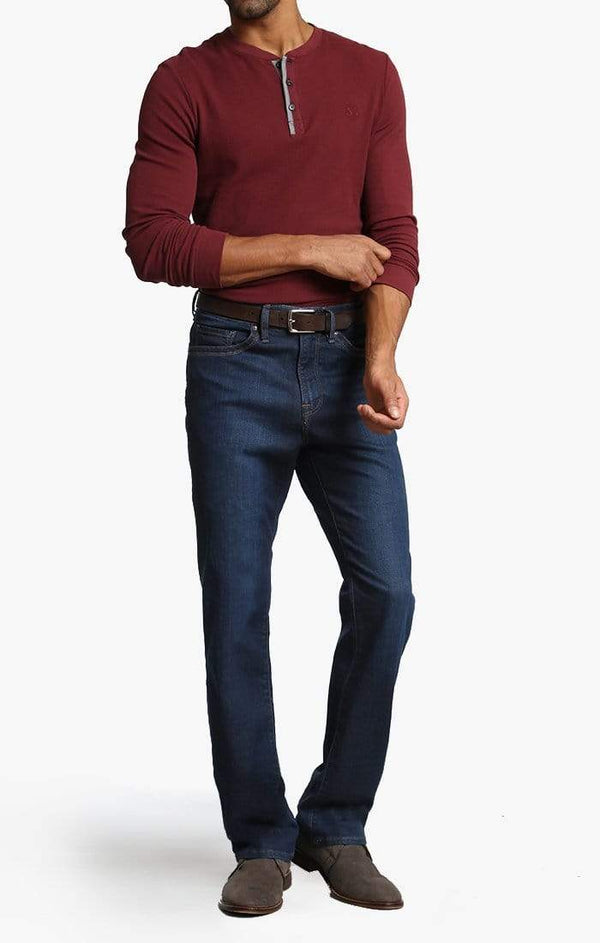 34 Heritage Denim Charisma Relaxed Straight in Dark Cashmere