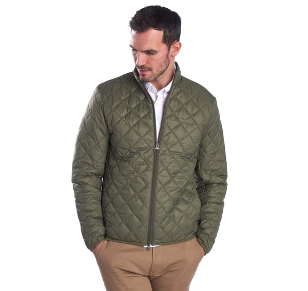 Barbour Outerwear Belk Packable Quilted Jacket- Olive