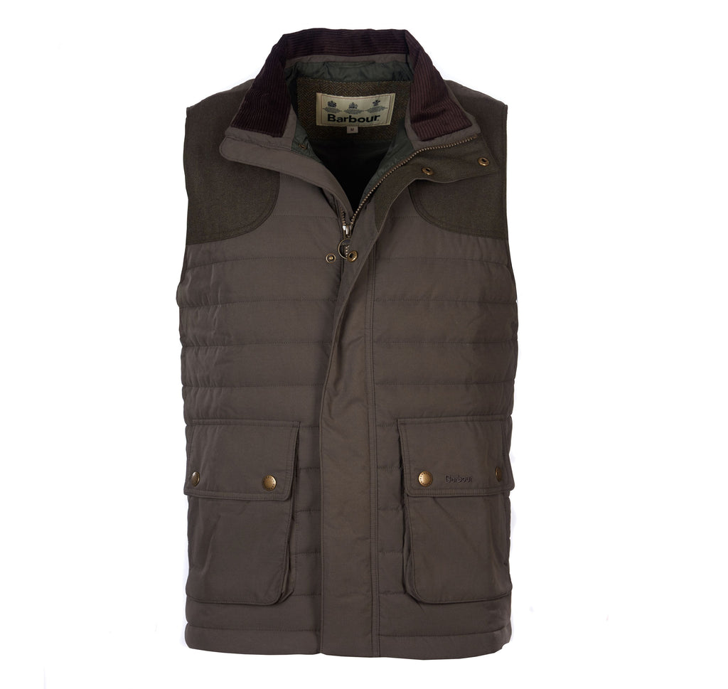 Barbour Outerwear Bradford Gilet- Forest