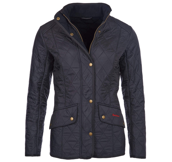 Barbour Outerwear Calvary Polarquilt Jacket- Navy