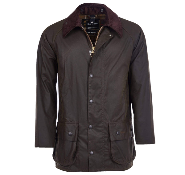 Barbour Outerwear Classic Beaufort Wax Jacket- Olive