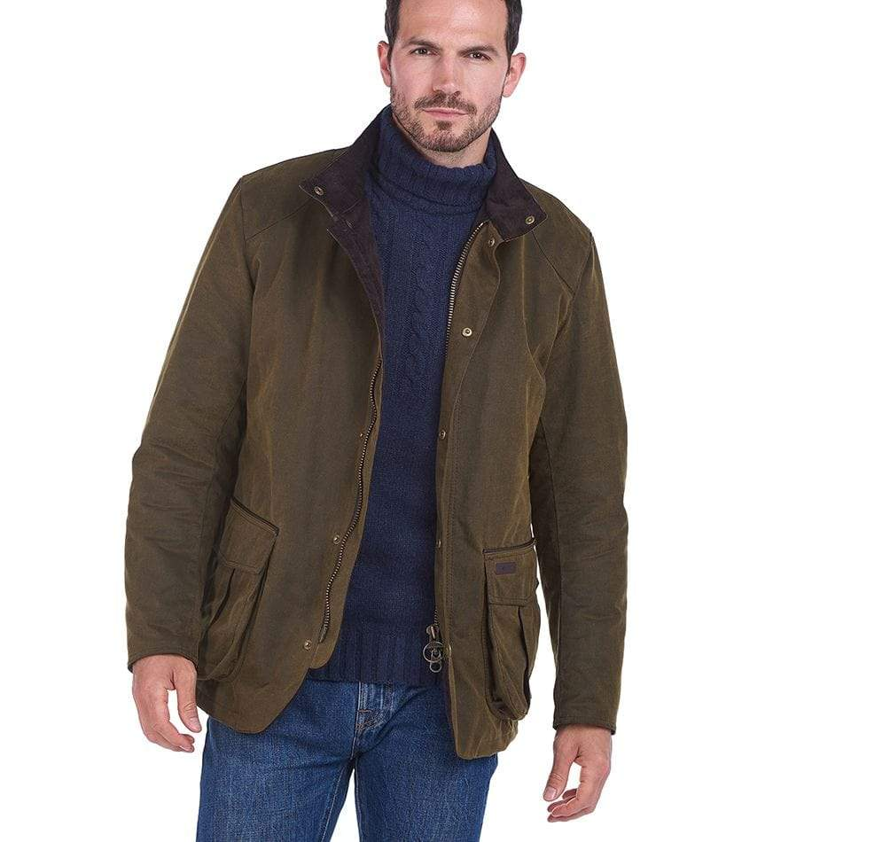 Barbour Outerwear Gilpin Waxed Cotton Jacket