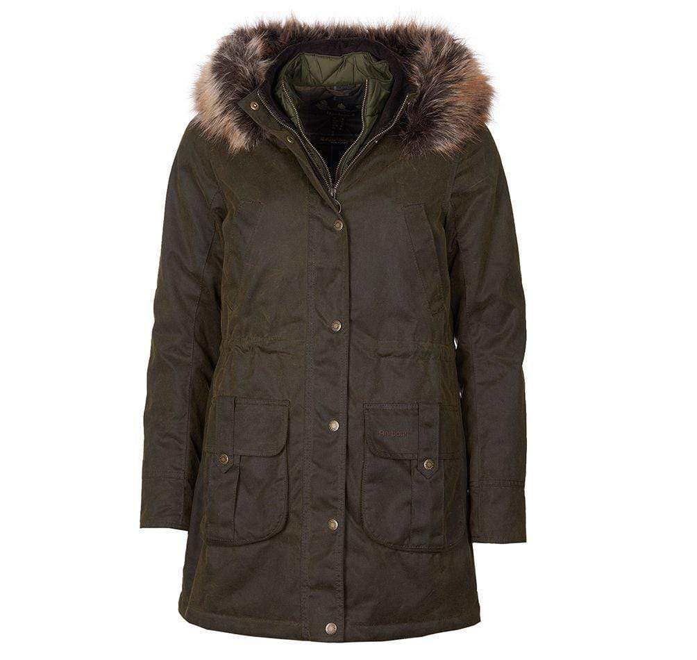 Barbour Outerwear Homeswood Waxed Cotton Jacket