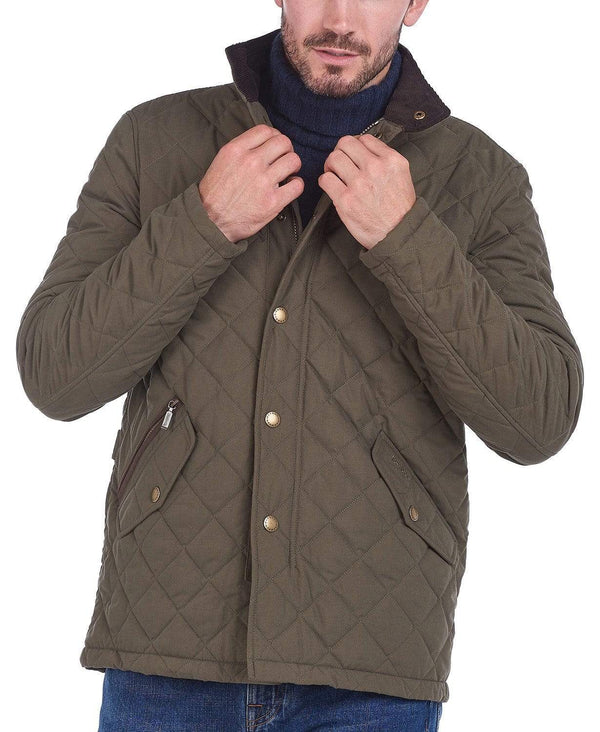 Barbour Outerwear Shoveler Quilted Jacket