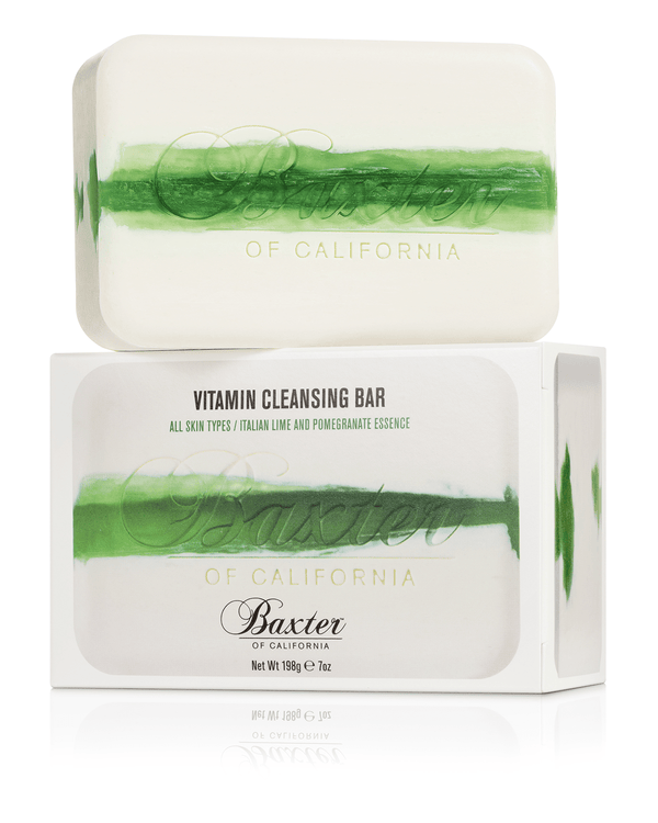 Baxter of California Grooming Vitamin Cleansing Bar Italian Lime & Pomegranate