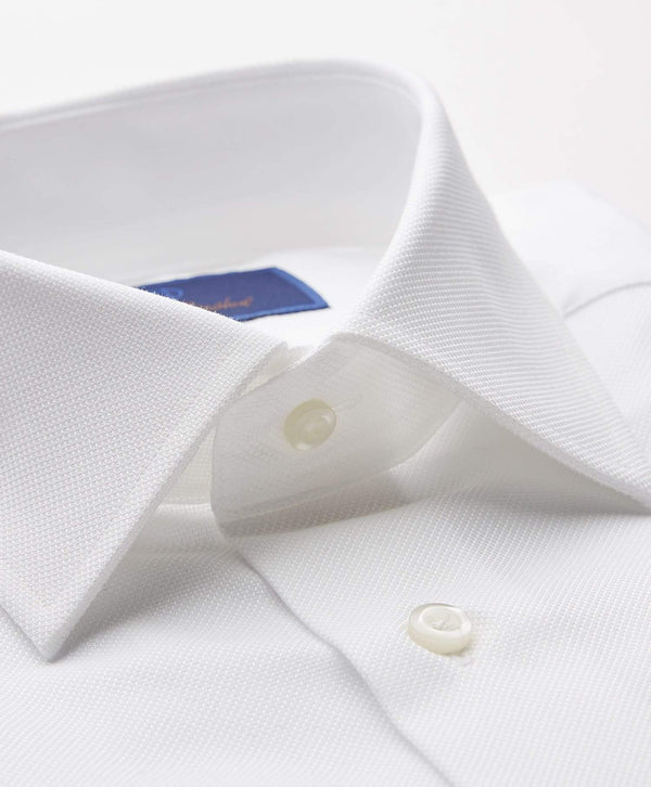 David Donahue Dress Shirts Royal Oxford Dress Shirt