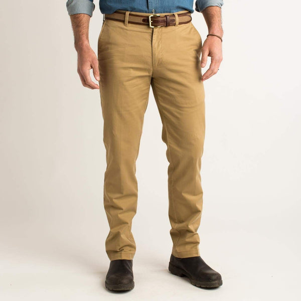 Duck Head Trousers Gold School Chino Dark Khaki