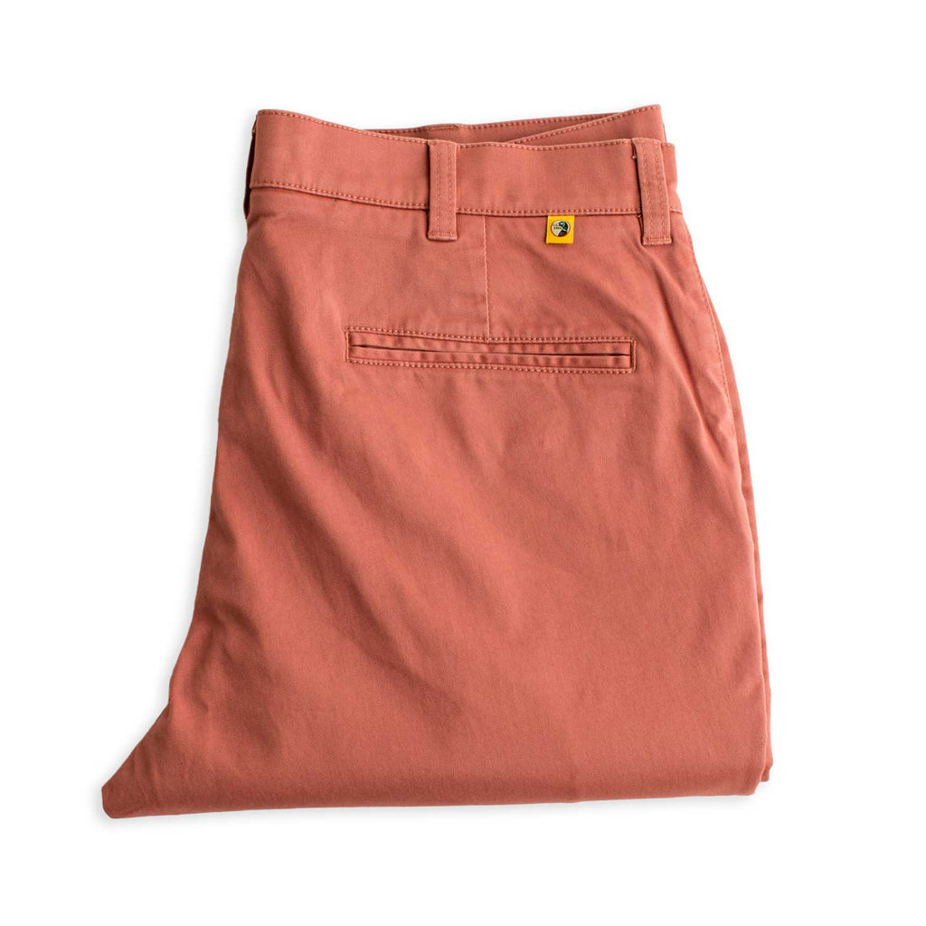 Duck Head Trousers Gold School Chino- Weathered Red