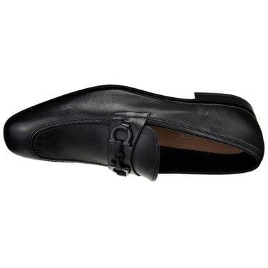 Ferragamo Men's Asten Gancini Dress Loafer