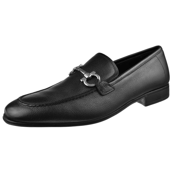 Ferragamo Shoes Ferragamo Flori 2 Bit Loafer Flori2-Black