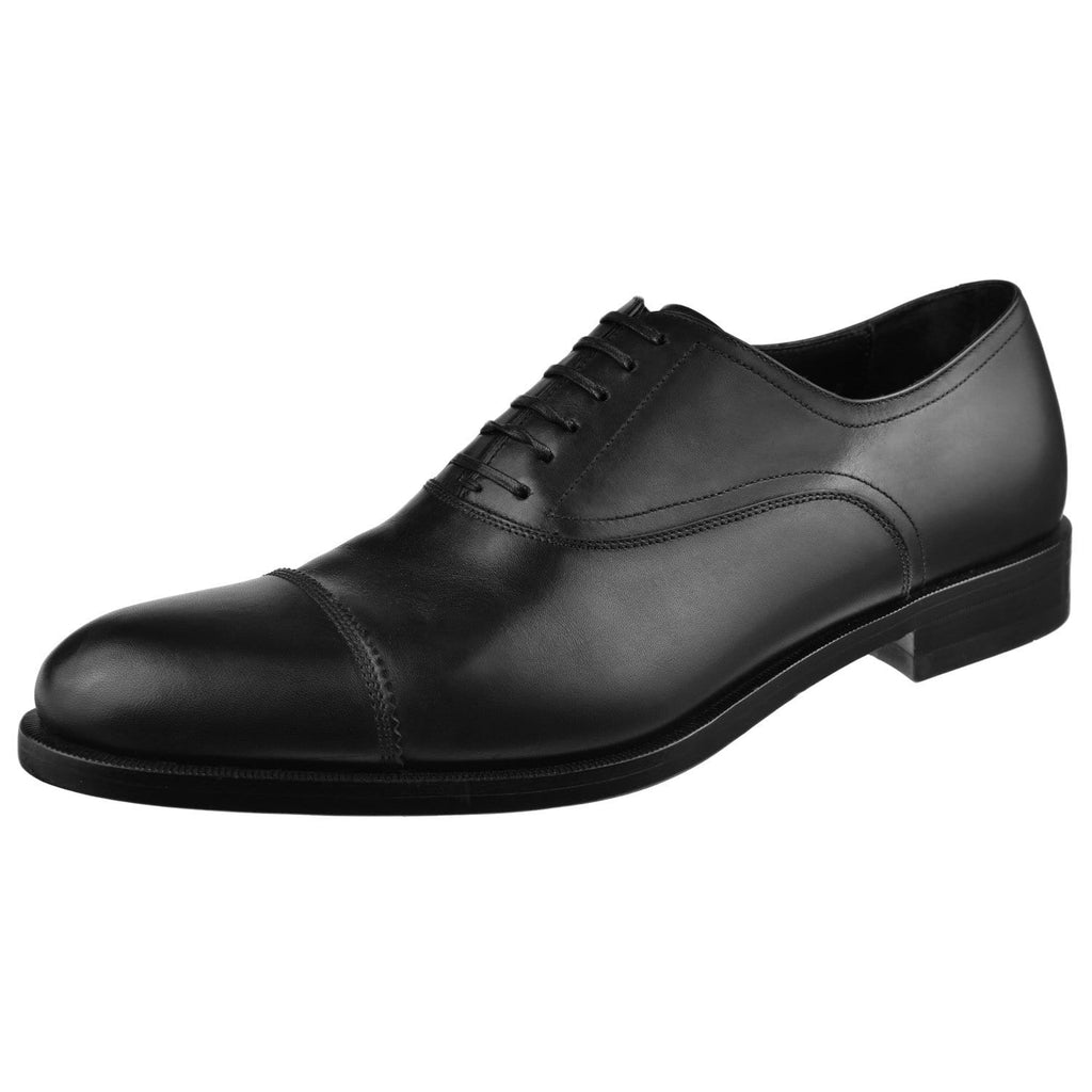 Ferragamo Shoes Ferragamo Guru Cap Toe Oxford Guru-Black