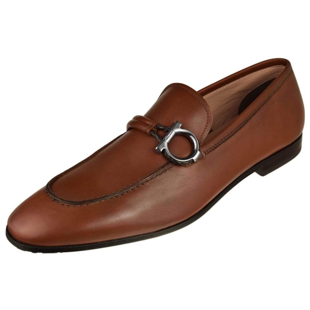 Ferragamo Shoes Ferragamo Mens America Loafer America-Cuoio