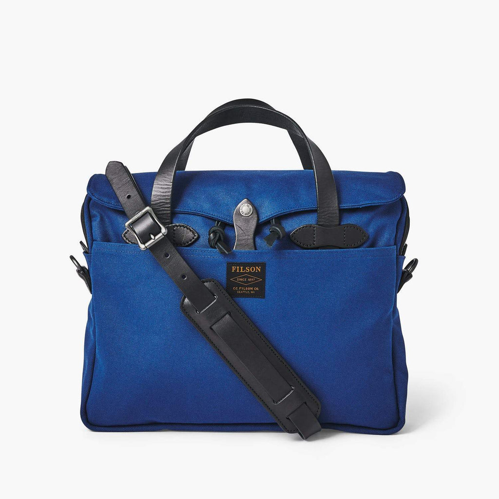 Filson Luggage Original Briefcase- Flag Blue