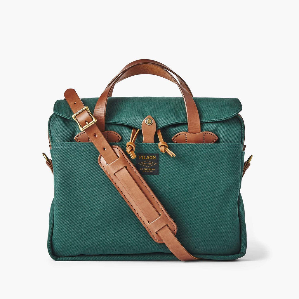 Filson Luggage Original Briefcase- Hemlock