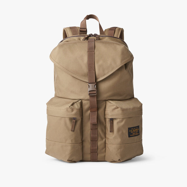 Filson Luggage Ripstop Nylon Backpack- Field Tan