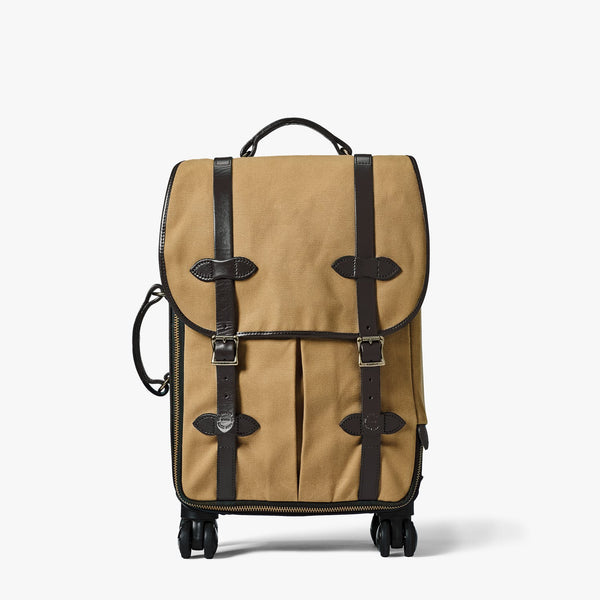 Filson Luggage Rugged Twill Rolling 4-Wheel Carry On Bag