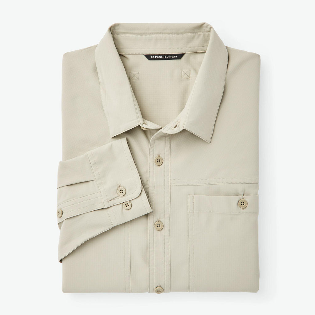 Filson Sport Shirts Ultralight Shirt- Sandbar