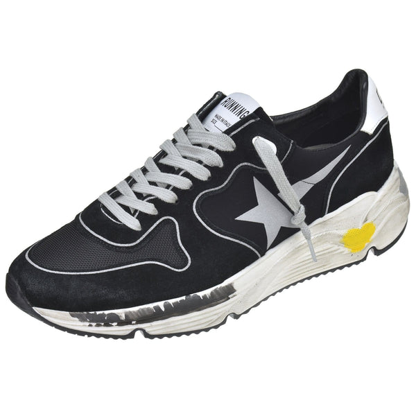 Golden Goose Shoes Running Sole Black Trainer