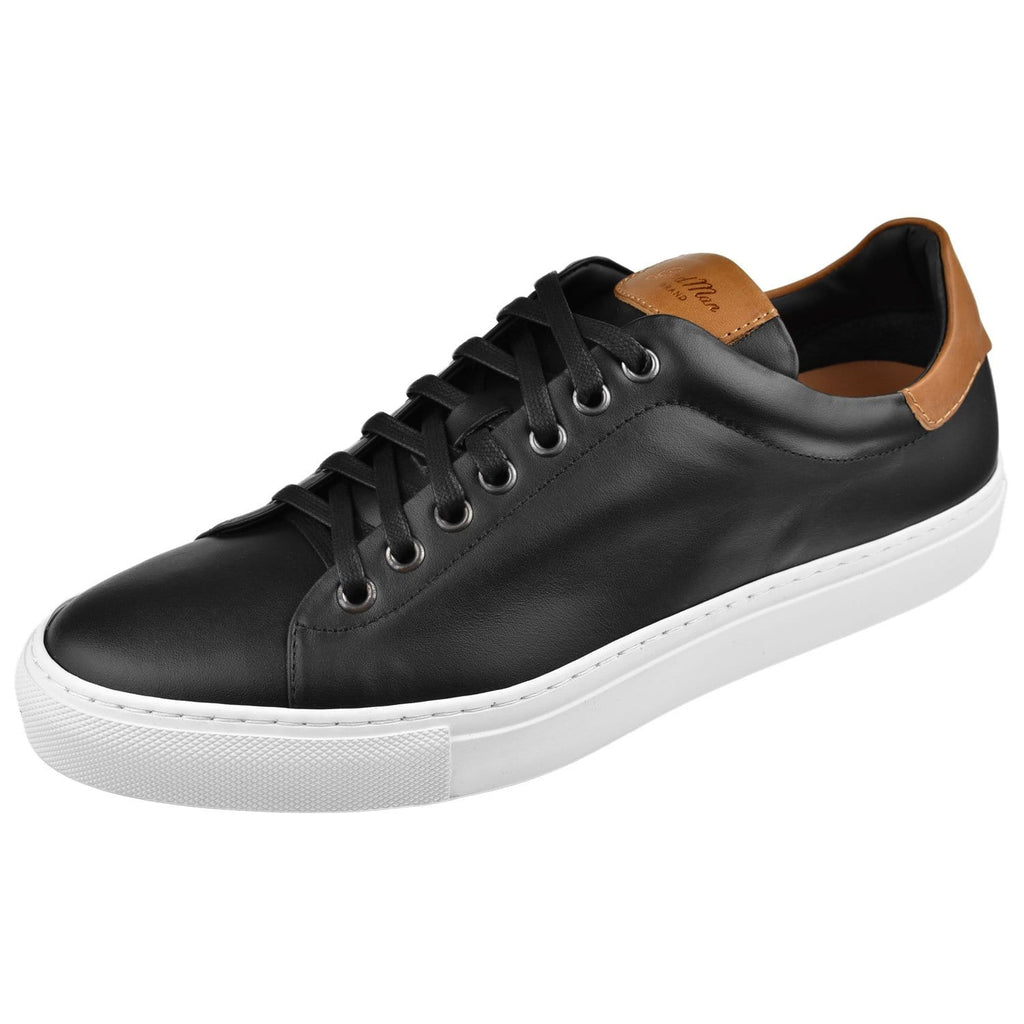 Goodman Brand Shoes Goodman Brand Mens Legend Vachetta Sneaker G97-11-Blkvachetta