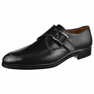Gravati Shoes Men's Single Monk Moc Toe