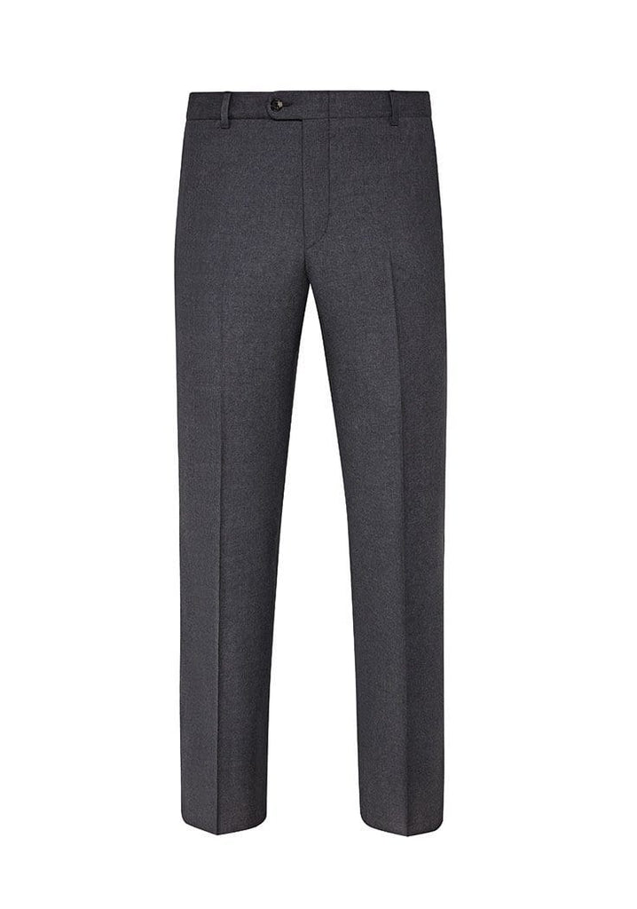 Hickey Freeman Dress Trousers Mélange Grey Mouliné Light Trousers