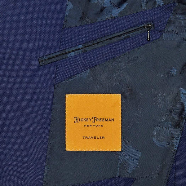 Hickey Freeman Sport Coats Blue Global Guardian Blazer