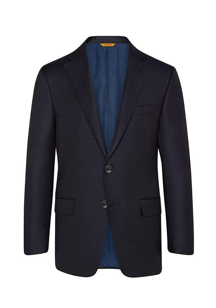 Hickey Freeman Sport Coats Navy Traveler Blazer