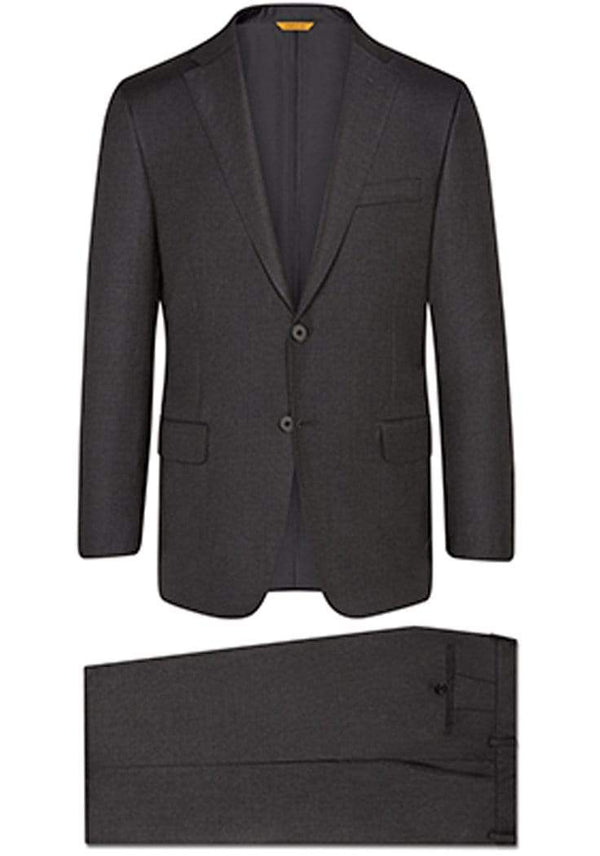 Hickey Freeman Suits Charcoal Tasmanian Suit