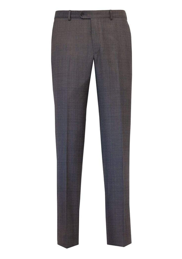 Hickey Freeman Suits Grey Plaid Four Seasons Suit