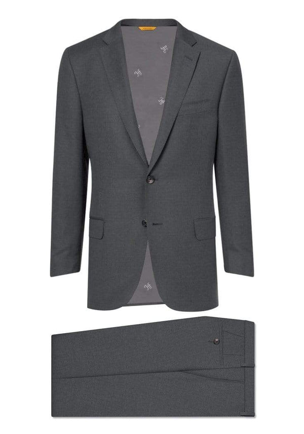 Hickey Freeman Suits Iron Grey Four Seasons Suit