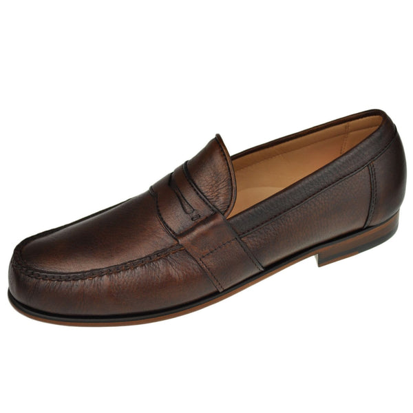 Jackson Payne Alan Payne Mens Shoes Wellesley Penny Loafer Wellesley-Almond