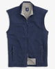 Johnnie O Outerwear Wes Zip Front Vest- Wake