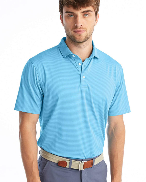 Johnnie O Polos Albatross Striped PREPformance Polo