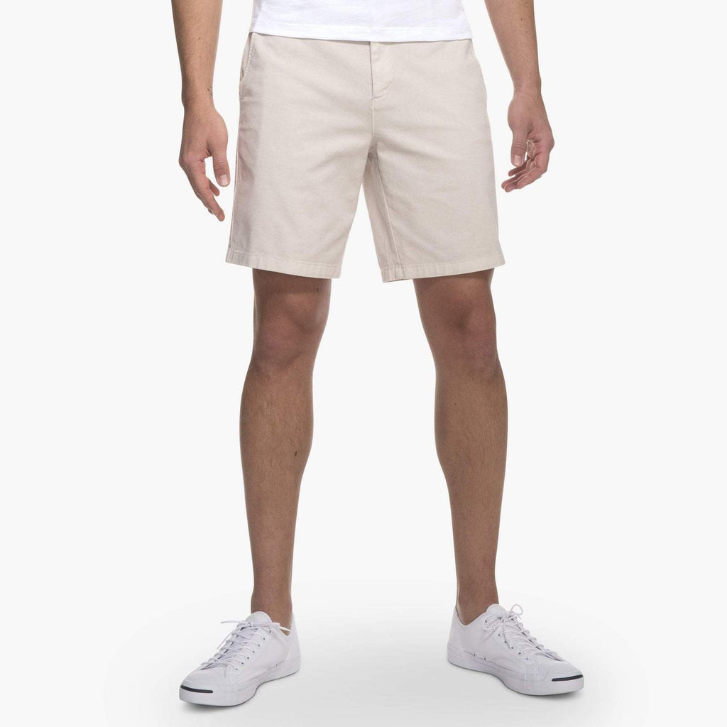 Johnnie O Shorts Neal Stretch Twill Shorts- Stone