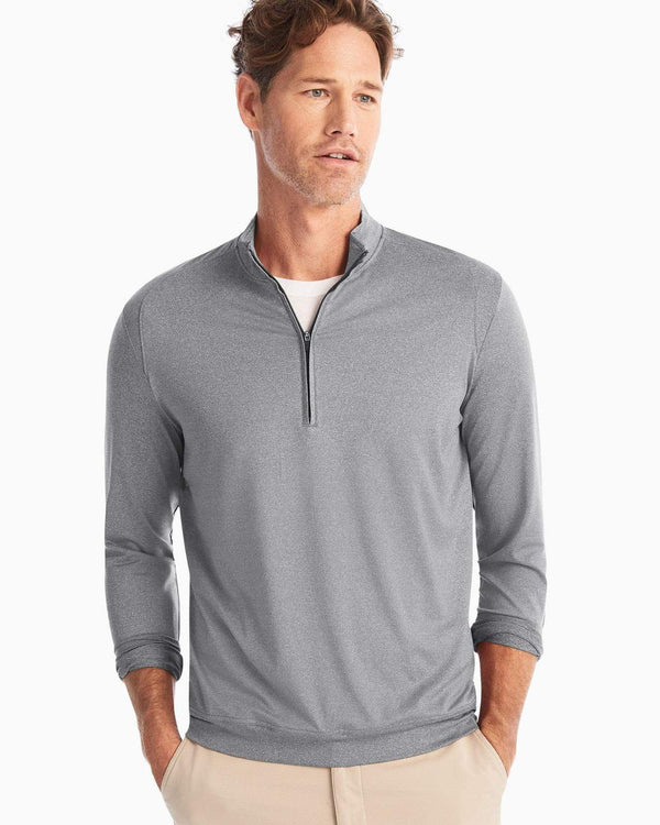 Johnnie O Sweaters Flex PREPformance 1/4 Zip- Meteor