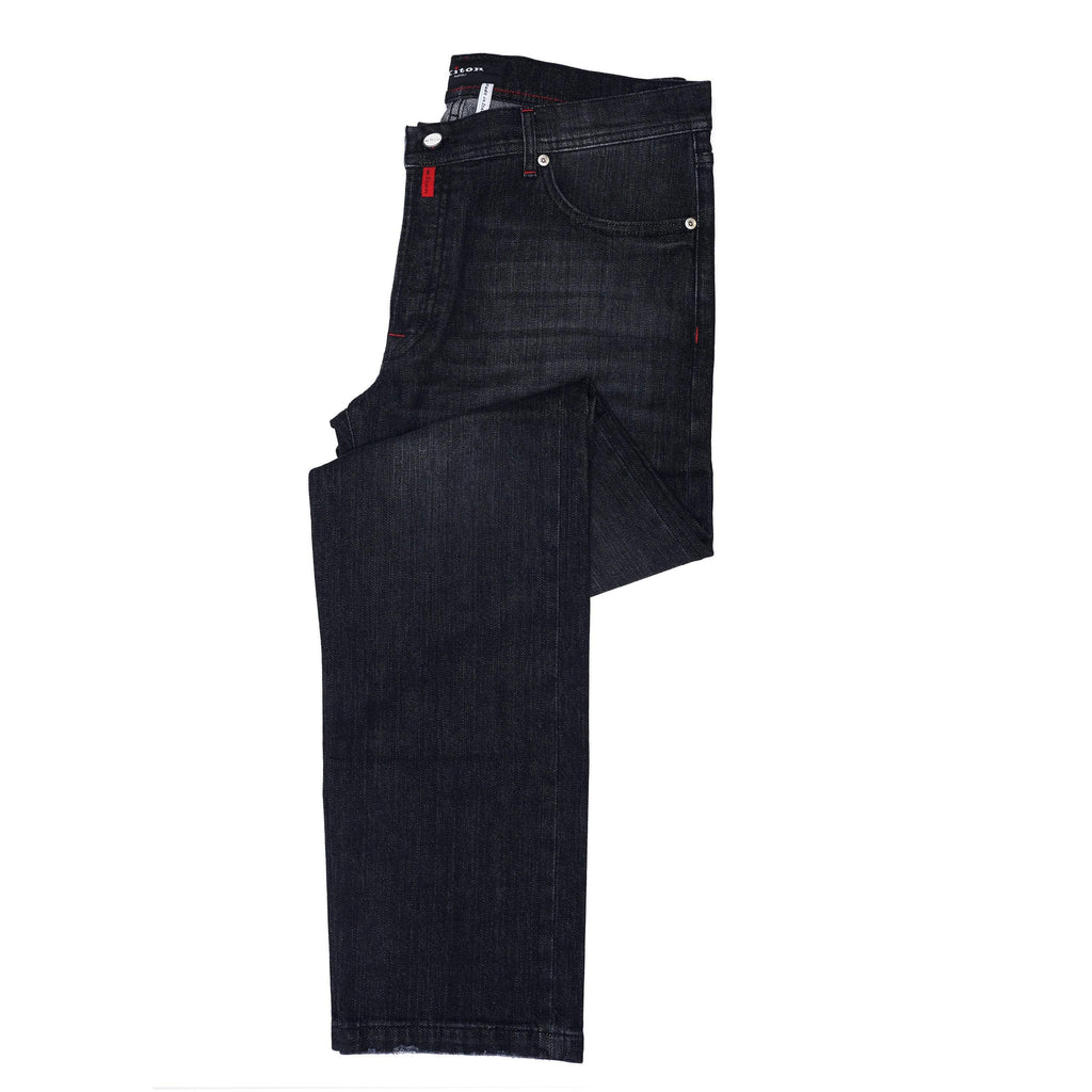 Kiton Denim Kiton Classic Black Denim