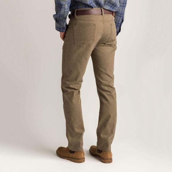 Duck Head Trousers 1865 Five-Pocket Field Canvas- Dark Olive