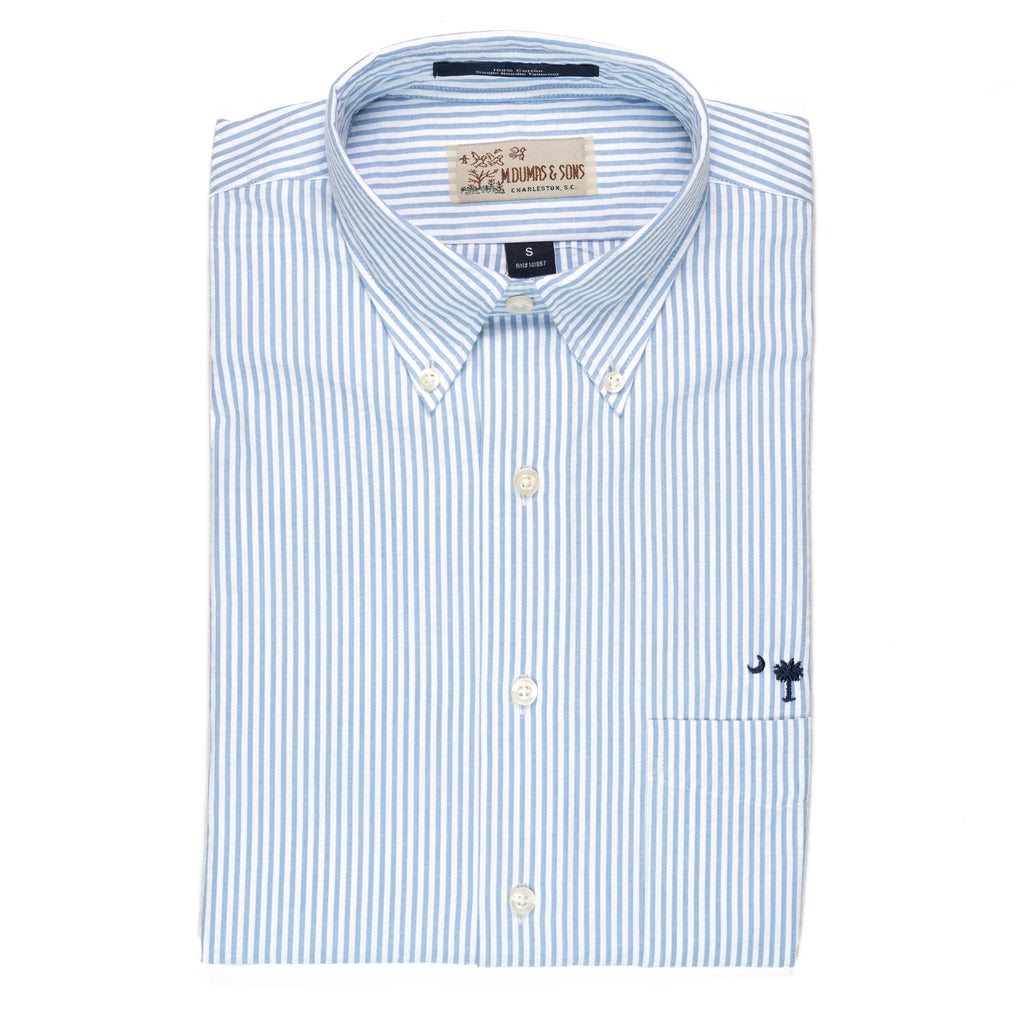 M. Dumas & Sons Sport Shirts Santee Stripe Short Sleeve Sport Shirt