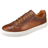Magnanni Shoes Magnanni Mens Shoes Huston Cup Sneaker 21419-Cognac
