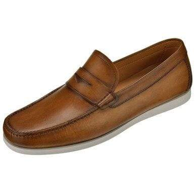 Magnanni Shoes Men's Laguna Penny Boat Moc