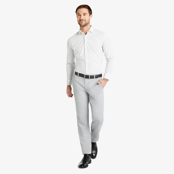 Mizzen & Main Dress Trousers Baron Chino- Ash Grey