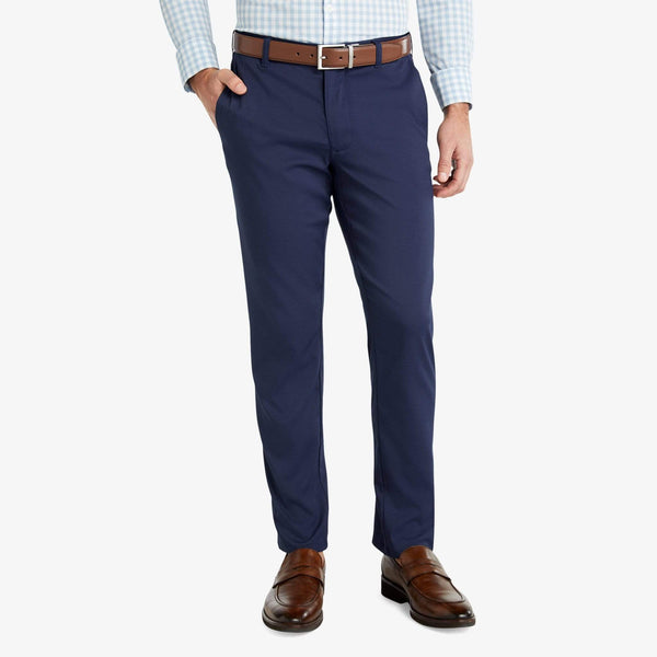 Mizzen & Main Trousers Baron- Navy Solid Chino